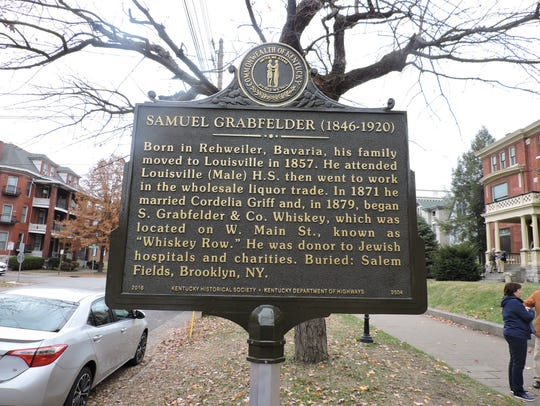 A Kentucky Historical Society state highway marker