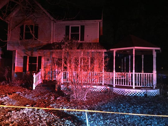 A woman was killed late Wednesday when a fire broke