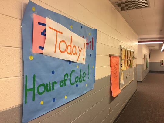 Sunset Elementary School is the only school in Washington School District whose entire school, K-5, participated in the Hour of Code.