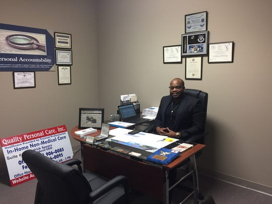 Cedrick Spears, President and CEO of Quality Personal