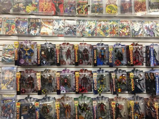 Kowabunga Comics in Oconomowoc sells collectible action