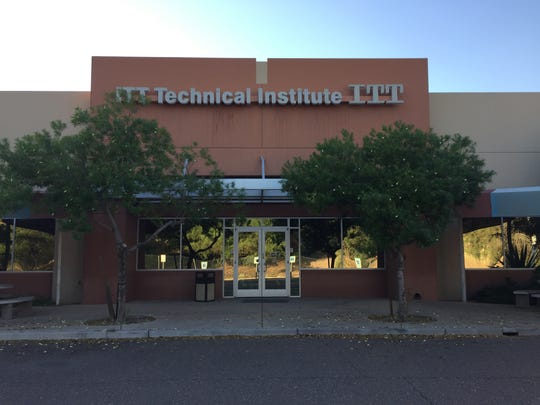 Nationwide, ITT Technical Institute shut down its 1,300 campuses, including this campus in Tempe.