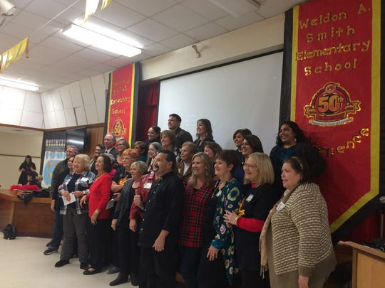 Smith Elementary School celebrated 50 years Friday by hosting former teachers and alumni.