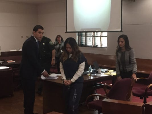 Katherine Magbanua in Leon Circuit Court Friday, Dec. 9, 2016