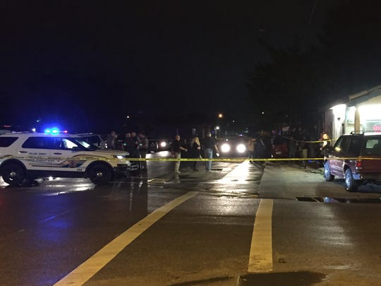 At least one person was shot Sunday evening, Dec. 11, 2016, at Los Gator's bar in Immokalee.