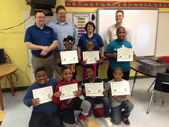 Students received Hour of Code Certificates and IBM