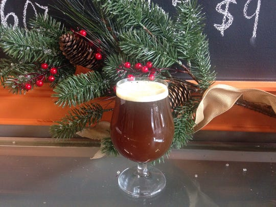 A barley wine warms up the season at Eight & Sand Brewing in Woodbury.