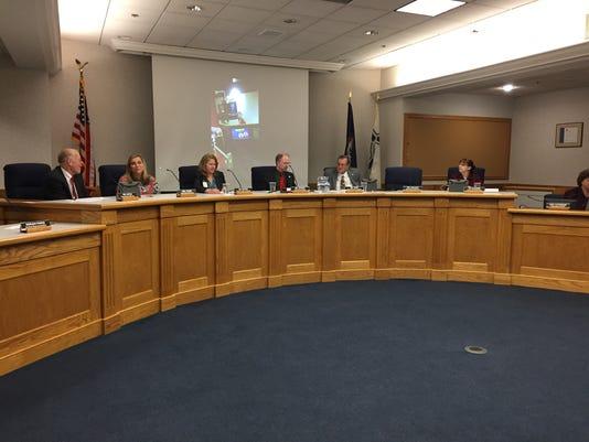 Staunton School Board meeting