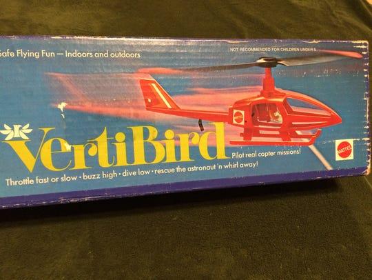 Mattel VertiBird helicopter
