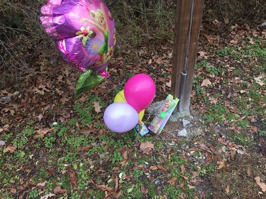 Homicide memorial at 12-19-16