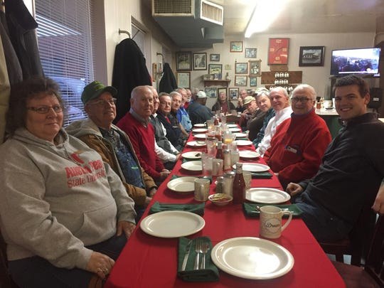 Patrons had their final Christmas breakfast at Moss's