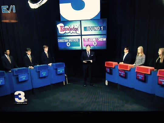 Christian Brothers High School faces off with First Assembly Christian School in a Channel 3 Knowledge Bowl match.