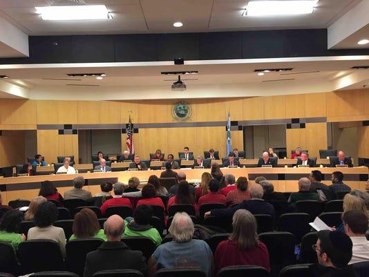 Rockland Legislature Dec. 19, 2016
