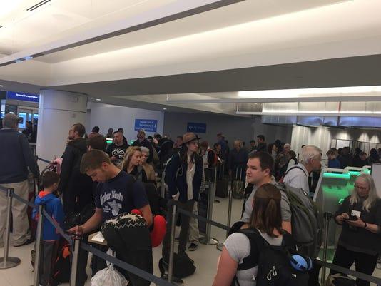 Frontier Airlines delays
