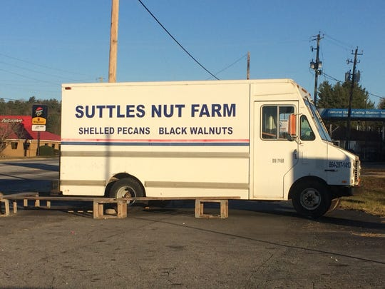 The Suttles Nut Farm truck is in the area again this