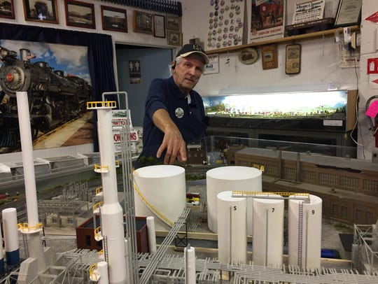 Cumberland Valley Model Railroad Club vice president
