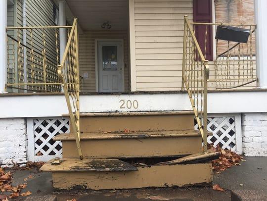 This home at 200 Joralemon St. in Belleville remains
