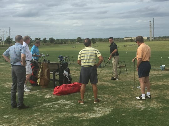 Alico Family Golf Center in Fort Myers was one of three sites to offer the PGA HOPE (Helping Our Patriots Everywhere) program in South Florida to introduce area veterans to the game of golf in 2016.