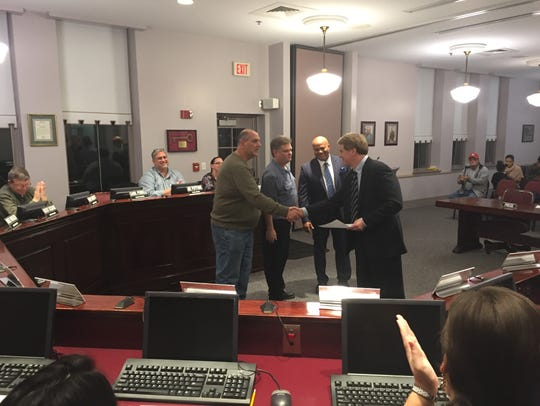 Millville Board of education held its annual reorganization