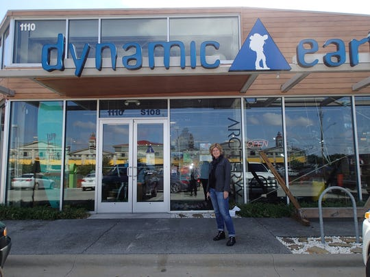 Backwoods CEO Jennifer Mull stands outside the Dynamic