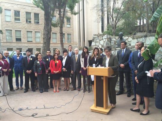 Arizona Senate and House Democrats announce their priorities