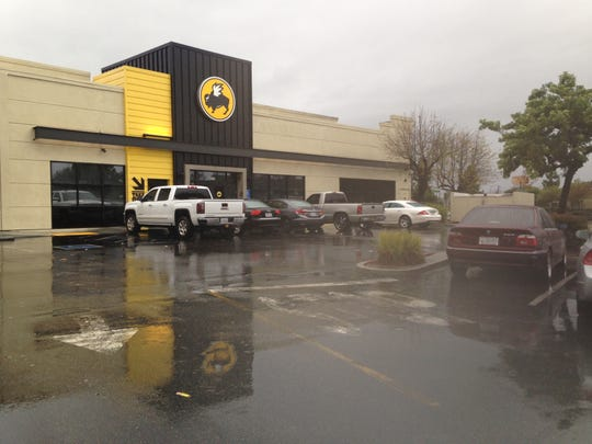 A man was shot and killed in the Buffalo Wild Wings