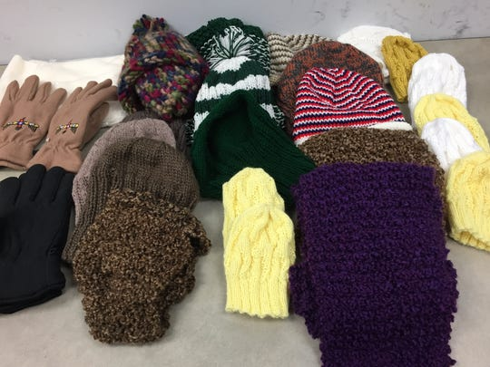 Hats and gloves that came to my office this week will be going to Bentley Community Serivces, probably on Monday.