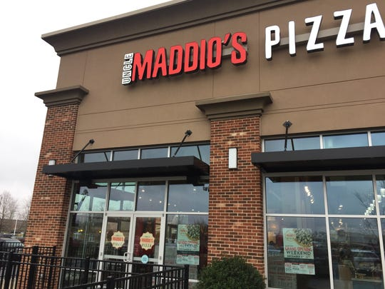 Uncle Maddio's Pizza is located at 143 Wendelwood Drive in Murfreesboro.