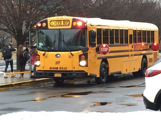 Byram Hills school bus