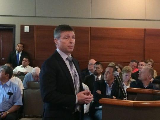 Robert Tully, Venture Executive for ExxonMobil's Gulf