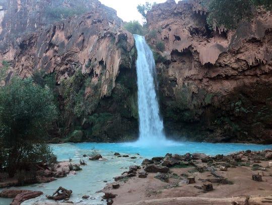 Stunning Havasu Falls.