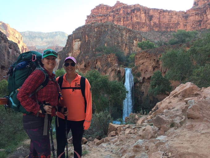 The 10-mile hike out of Havasupai is significantly