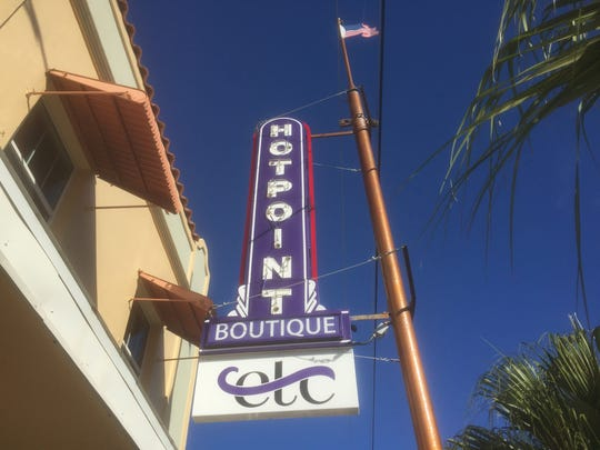Hotpoint Boutique, 326 S. Washington Ave., Titusville, was one of 17 businesses honored Friday by the North Chapter Action Team of KBB/Greater Titusville Renaissance Beautification team.