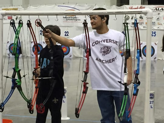 The 2019 Archery in Louisiana Schools state tournament will be held Saturday in the Shreveport Convention Center.