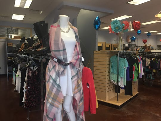Shawls are $12 to $18 at NTY Exchange in Pittsford.