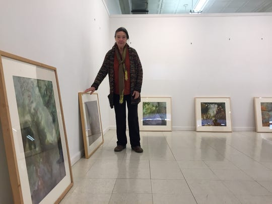 Artist Shay Herring Clanton begins to organize her