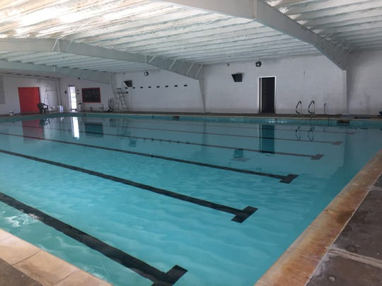 The Southside Swim Club indoor pool recently received