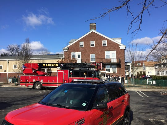 A third-floor fire at Madison's Thursday Morning Club