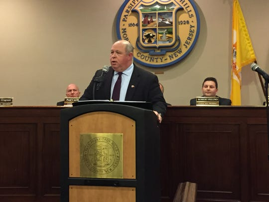 """Mayor James Barberio delivers his """"State of the Township"""""""