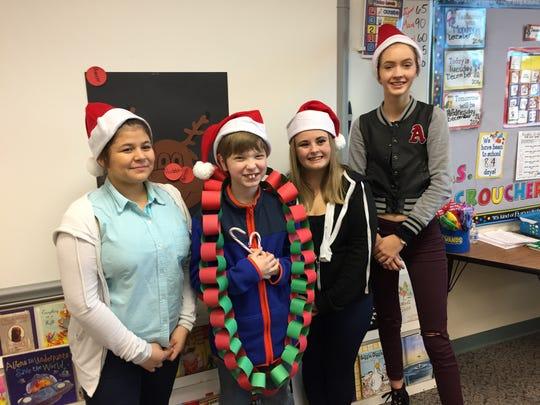 Millcreek Students Tammy Vega, Ravonn Drury, and Terra