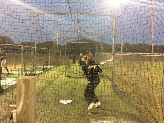 Rockport-Fulton softball