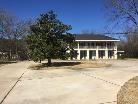the DeBerardinis home in Shreveport.