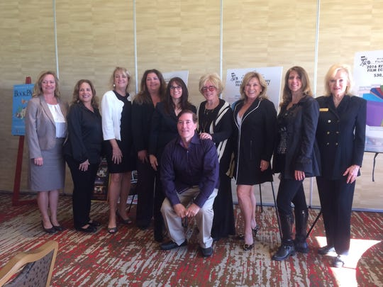 Panelists and members of the Palm Springs Women in