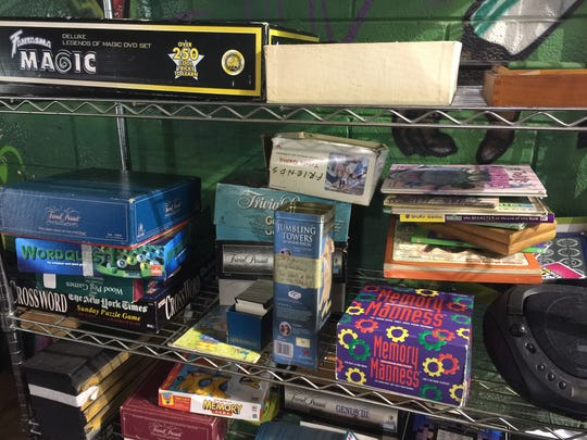 Games are available to play with at Phat Bites on Lebanon Pike.