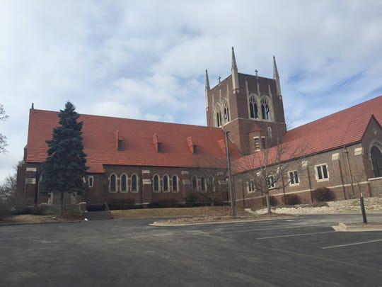 A deacon was stabbed at St. Augustin's Church in Des Moines Thursday morning.