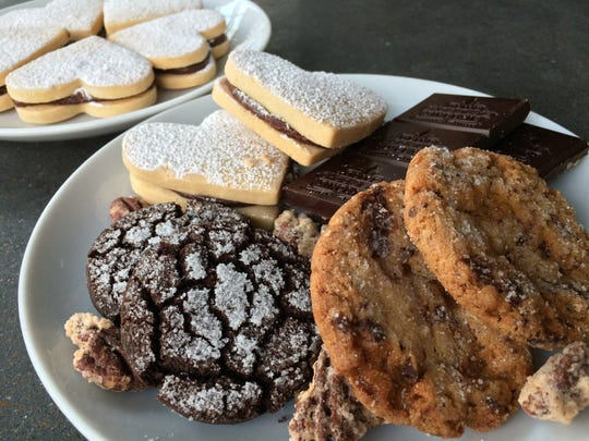 Rebekah Turshen's cookie plate at City House.