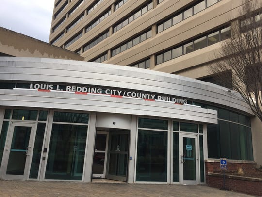 The Louis L. Redding City County Building houses the