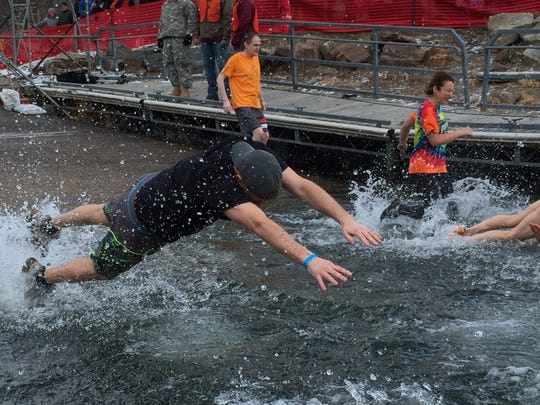 Participants in the Penguin Plunge on Saturday raised $528,000 for Special Olympics Vermont.