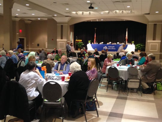 Murder on the Menu brought out more than 100 guests