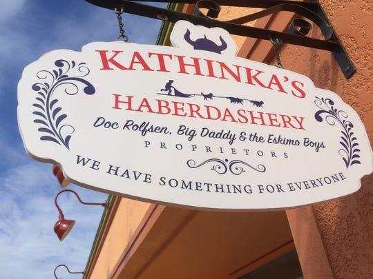 Kathinka Babb opened Kathinka's Haberdashery, 161 Minutemen